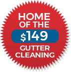 Home of the $149 Gutter Cleaning