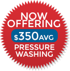 Now Offering Pressure Washing